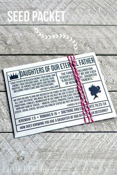 Daughters of Our Eternal Father: April 2016 VT MessageLittle LDS Ideas