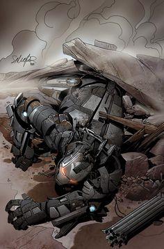 Iron Man 2.0 by Salvador Larroca