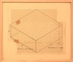 Donald Judd, Untitled (Working Drawing)1600