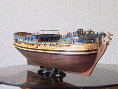 ロイヤルキャロライン(Royal Caroline) 帆船模型 製作過程 / Royal Caroline 1749 / 1:47 / Saved by Stephen Lok ~END~