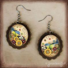 Treasure Bird Earrings