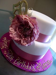 50th Birthday Cake by Cre8acake, via Flickr