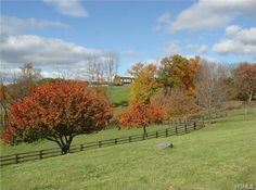 Beautiful equestrian property in the Hudson Valley, New York. This home is located in Chester, just a little over one hour North of NYC.