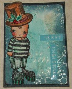 "stampcorner: ATC ""Merry Christmas"""