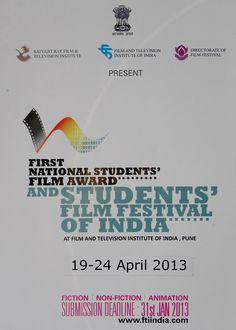 Complete List of winners: 1st National Students Film Festival - DearCinema.com | DearCinema.com