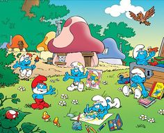 The Smurfs Utopian Village