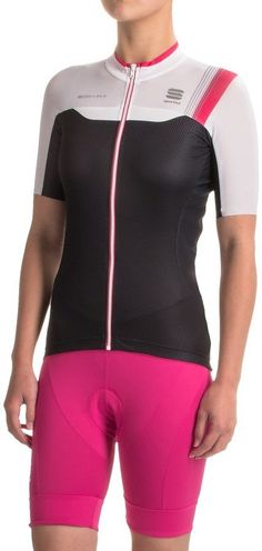 Sportful BodyFit Pro Cycling Jersey - Full Zip, Short Sleeve (For Women)