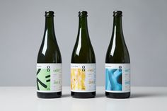 Packaging for O/O Brewing by Swedish graphic design studio Lundgren+Lindqvistv. #craftbeer #microbrewery