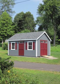Need more storage space? How about a garden shed? This Kloter Farms 12' x 16' New England Cape could be customized for you.