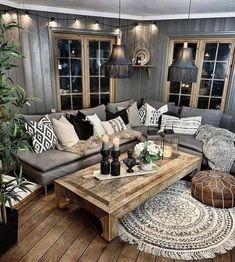57 Inspiring Bohemian Living Room Design Ideas For Your Home Boho decorations, bohemian living room, boho interior design, mid-century modern living room, old living room decors. Boho Living Room, Home And Living, Living Room Decor, Bohemian Living, Modern Living, Bohemian House, Living Rooms, Bohemian Room, Simple Living
