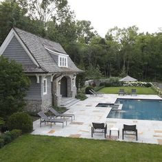 Pool Houses Pools And House On Pinterest