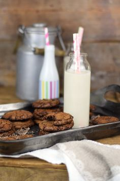 Schokoladige Saftige Brownie Cookies - Chocolate Brownie Cookies (13)