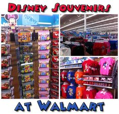 Looking for Disney Discount Stores? Disney Souvenirs at Walmart are found close to the Walt Disney World park.