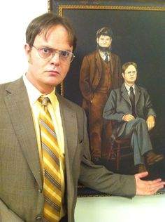 Dwight and Mose!