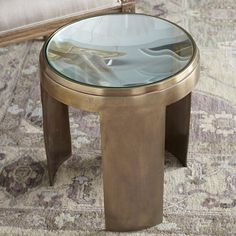 18. Concave Side Table