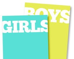Girls & Boys Free Printable Journaling Cards for project life