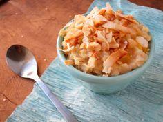 The Oatmeal Artist: Salted Mango Coconut Oatmeal