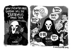 The truth about Reaper #overwatch #cosplayclass #anime