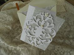 Blank Card with Coordinating Envelope by BarbarasNook on Etsy