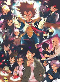 Tags: DRAGON BALL, Vegeta, Son Goku (DRAGON BALL), Trunks Briefs, Krillin, Android 18, Chi-Chi, Bardock (DRAGON BALL), Raditz, Tarble, Nappa, Turles, King Vegeta