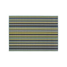 StyleHaven Cayman Striped Indoor Outdoor Rug, Blue