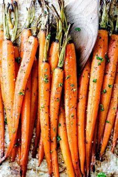 Honey-Garlic-Roasted-Carrots-10 with secret ingredient