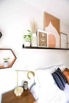 DIY Project: How to Make Your Own Picture Ledge Shelf Diy Picture Rail, Picture Ledge Shelf, Diy Projects Pictures, Floating Nightstand, Floating Shelves, Make Your Own, Make It Yourself, How To Make, Rustic Pictures