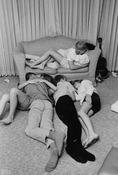 1960s mad make-out parties! In full view of friends and so much fun especially with slow dancing! LOL....