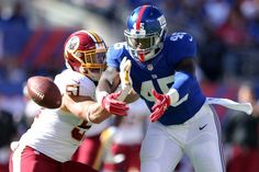 Redskins-Browns: Key matchups to follow Sunday at FedEx Field