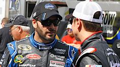 ARTICLE (Feb. 23, 2012): Earnhardt, Johnson to start Daytona 500 in top eight after Thursday's Duels. More: www.hendrickmotor....