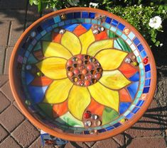 stained glass sunflowers | Gallery | McLean Stained Glass Studios