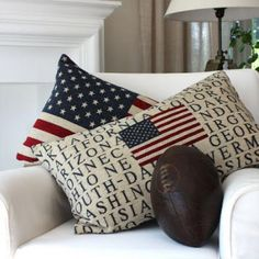 Simply Natural and Patriotic Decor