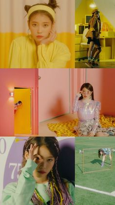 IU #BBIBBI Kpop Girl Groups, Kpop Girls, Vaporwave Anime, Movies And Series, Mamamoo, K Idols, Korean Singer, Girl Photos, Asian Beauty