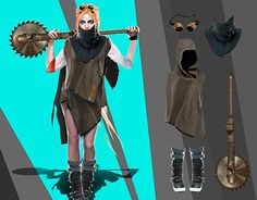"""Check out new work on my @Behance portfolio: """"concept-art_crossout_personage"""" http://be.net/gallery/59343125/concept-art_crossout_personage"""