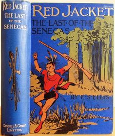 Red Jacket by E.S. Ellis, London: Cassell & Company Limited  c1900 | Beautiful Antique Books