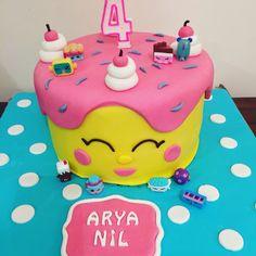 4 year old baby girl birthday cake/ 4 yaş kız çocuğu Doğum günü pastası 4th Birthday Cakes, Birthday Board, Girl Birthday, Birthday Ideas, Best Cake Recipes, New Cake, Party Time, Cake Decorating, Bakery