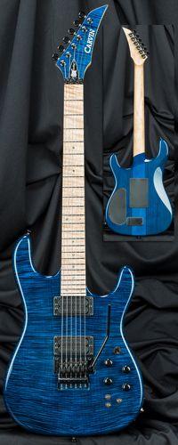 Carvin Guitars JB200C Jason Becker Guitar with Floyd Rose Tremolo Serial Number 133492