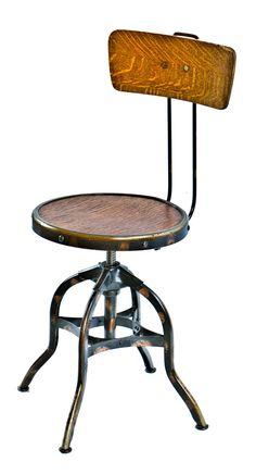 Wood Drafting Stool antique wood drafting stool, circa 1890s   antique wood, stools