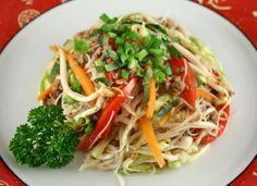 Beef Chow Mein Makeover