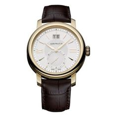 RADO DiaMaster Automatic Grande Seconde ceramic and leather watch Florence, Brown Leather Strap Watch, Leather Case, Black Leather, Online Watch Store, Rado, Patek Philippe, Watch Brands, Watches For Men