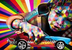 Grafiteiro fará intervenção na SPFW | Terraço Paulistano