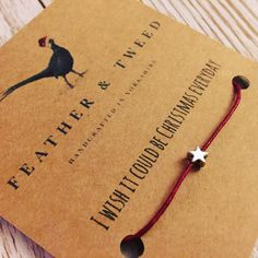 A personal favourite from my Etsy shop - secret Santa gift with movie quotes . Christmas gift or stocking filler. Tiny star bracelet.     https://www.etsy.com/uk/listing/463611582/christmas-quotes-tiny-star-bracelet-elf