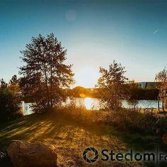 Reposting @stedom.nl: A great sunrise in the morning. • • • • •  #sunrise #forest #trees #woodland #woods #photography #naturephotography #naturelovers #natureaddict #natureshots #spring #nature #getoutdoors #outdoors #getoutdoorsmore #landscape #landscapephotography #lakeside #travel #naturegram #nature_perfection #sunshine #sun #sunday #brightlight #hiking #landscapephotography #TheGlobeWanderer #earthawesome