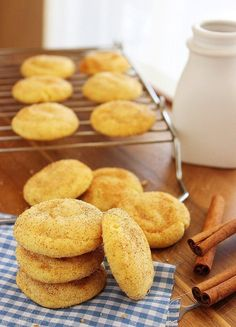 Super Soft Cake Mix Snickerdoodles http://www.thecomfortofcooking.com/2014/06/super-soft-cake-mix-snickerdoodles.html