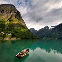 Oppstrynsvatnet, Stryn, Sogn og Fjordane, Norway