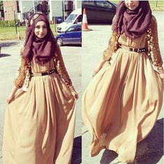 french-hijabi: (via thisismyaesthetic, epouseomrani) Modest Wear, Modest Outfits, Modest Fashion, Hijab Fashion, Fashion Outfits, Modest Clothing, Women's Fashion, Hijabi Gowns, Hijab Dress