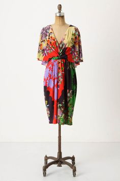 a thing of beauty - front view of the 'Back View Dress' from #Anthropologie $168.00