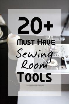 Great list of everything you need for a well stocked (but not over the top) sewing room. This is stuff that will actually be used (plus 100$ JoAnns gift card giveaway) - Rae Gun Ramblings