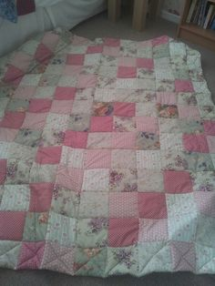 First attempt at quilting