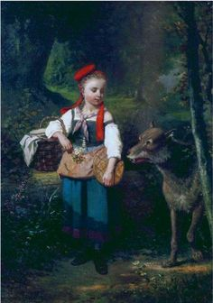Louis Cabaillot Lasalle - Little Red Riding Hood